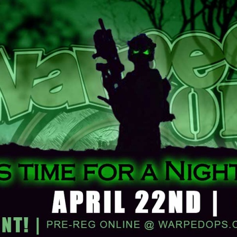 NIGHT OP | April 22nd, 2017 | 6PM-1AM